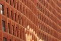 Brick facade design Royalty Free Stock Photo