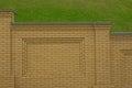 Brick fence Royalty Free Stock Image