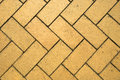 Brick Flooring Royalty Free Stock Photo