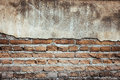 Brick grunge wall background Royalty Free Stock Photo