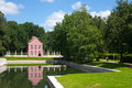 Brick house in the park dutch kuskovo moscow russia Stock Image