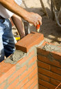 Brick Layer 2 Stock Images