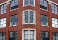 Brick Office Building Royalty Free Stock Photo