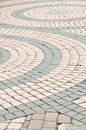 Brick pathways Royalty Free Stock Photography