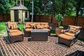 Brick Patio and Furniture