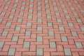 Brick pavement Stock Image