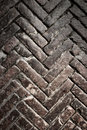 Brick pavement vintage texture Royalty Free Stock Image