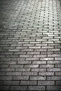 Brick road a background texture of a Stock Photos