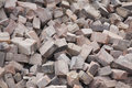 Brick Rubble Royalty Free Stock Photography