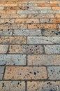 Brick Sidewalk Royalty Free Stock Photo