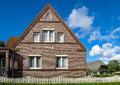 Brick single family house home, Germany Royalty Free Stock Photo