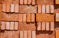 Brick stack Stock Photos