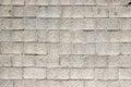 Brick stone gray wall background rough texture. Royalty Free Stock Photo