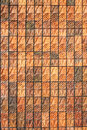 Brick stone pattern wall texture with modern style block Royalty Free Stock Images
