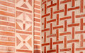 Brick texture wall 库存照片