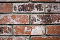 Brick texture worn bricks backround macro Stock Images