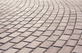 Brick Walk Way Royalty Free Stock Photo
