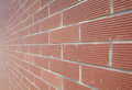 Brick wall abstract background with new horizontal Royalty Free Stock Photo