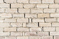 Brick wall aged white texture old white texture Royalty Free Stock Images