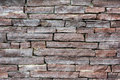 Brick wall background abstract textured of old Royalty Free Stock Images