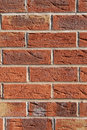 Brick wall background abstract textured of red Stock Photography