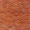 Brick wall background on beautiful Royalty Free Stock Photography