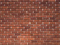 Brick wall background close up of texture Royalty Free Stock Image