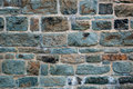Brick wall background colorful from old building in quebec city Royalty Free Stock Photos