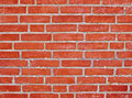 Brick wall background red pattern for a Stock Photography