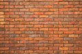 Brick wall background, texture Stock Photos