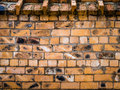 Brick wall background of texture Royalty Free Stock Photography