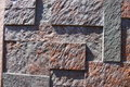 Brick wall background texture a detailed view of modern textured Stock Photo