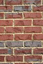 Brick wall background vertical red and gray bricks on a suitable for a Stock Photo