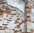 Brick wall background, wall texture, vintage brick