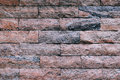 Brick wall backgrounds normal color Royalty Free Stock Photo