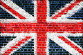 Brick Wall Britain Royalty Free Stock Photo