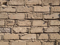 Brick wall brown background texture Stock Photo