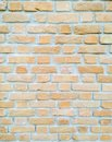 Brick wall close view of the Stock Photo