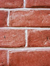 Brick wall closeup of a Stock Photo