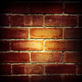 Brick wall closeup of bricks in Royalty Free Stock Images