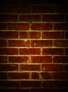 Brick wall closeup of bricks in Stock Photo