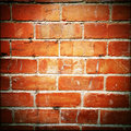Brick wall closeup of bricks in Stock Images