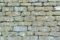 Brick wall craftsmanship. Royalty Free Stock Photo
