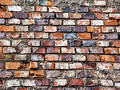 Brick wall, grungy Royalty Free Stock Photo