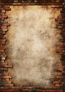 Tehla stena mizerná rámik