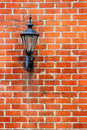 Brick Wall Light Royalty Free Stock Image