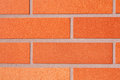 Brick wall is a main material in construction Stock Image