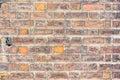 Brick wall. Mauve texture. Royalty Free Stock Photo