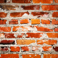 Brick wall old red texture Royalty Free Stock Photo