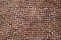 Brick wall of old tower or castle Royalty Free Stock Photo